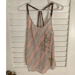 Adorable Free People strappy top